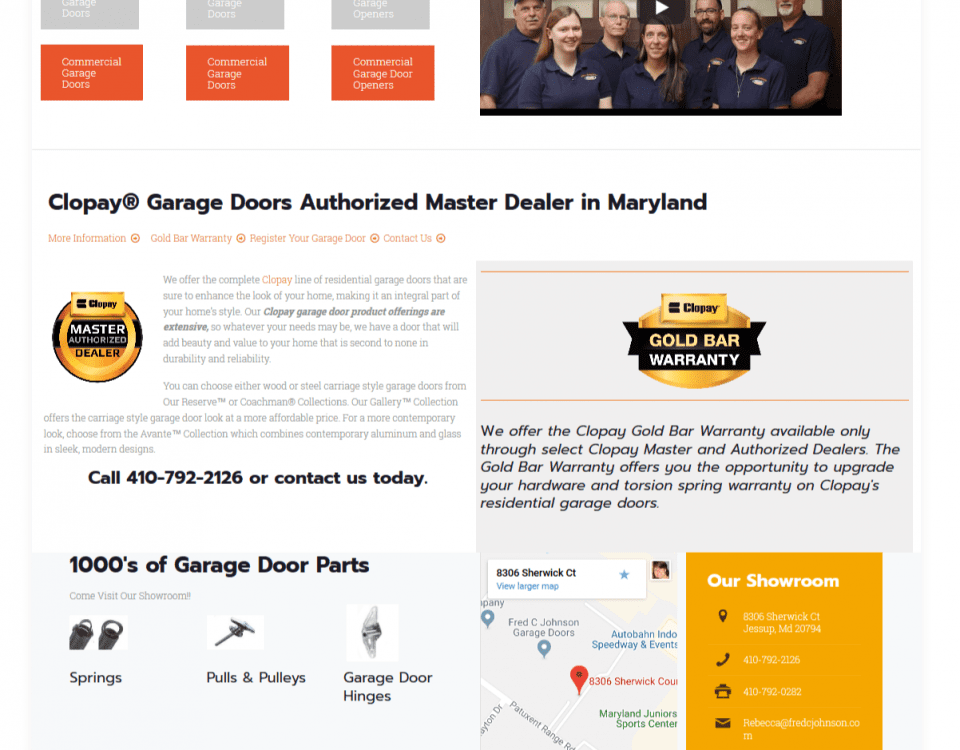 Garage Doors Maryland