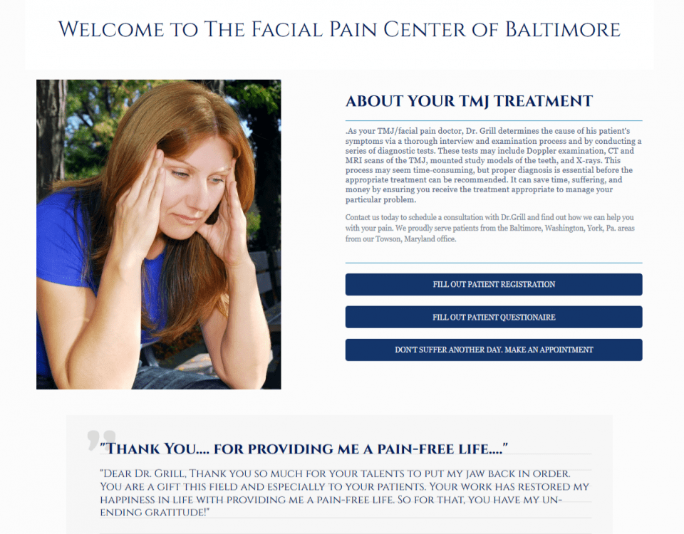 tmj treatment baltimore