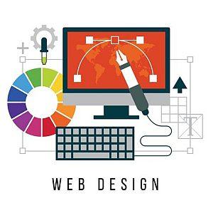 landing pages, web design